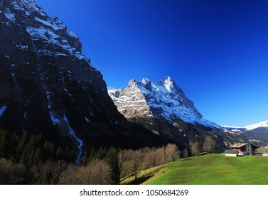 Eiger Peak (3970m), Berner Oberland, Switzerland, Europe