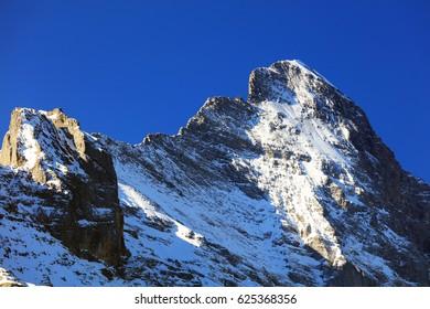 Eiger Peak (3970m), Berner Oberland, Switzerland, Europe