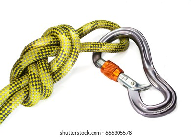 Eight Knot with a carabiner