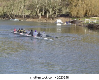eight man coxed