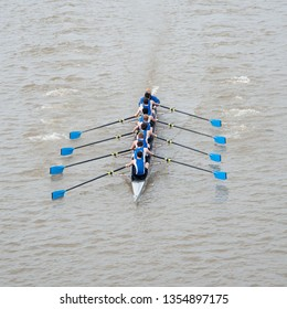 Eight Man Crew Team