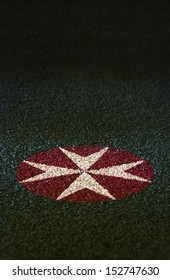 Eight Pointed Maltese Cross, Emblem of Order of the Knights of Saint John symbolize the 8 points of courage: Loyalty,Piety,Generosity, Bravery, Glory & Honor, Contempt of Death, Helpfulness, Respect