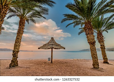 Eilat is a famous Israeli city with beautiful sandy beaches of the Red Sea, the city is surrounded by stunning mountains and desert scenery. Eilat is a very popular tropical getaway for tourists