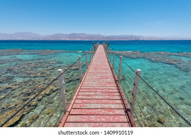 Eilat, Israel; May 17th, 2019:  Located near the Egyptian border, conservation of the coral reefs is the primary reason of the creation of this National park.