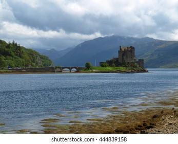 Eilean Donan Castle from a Distance