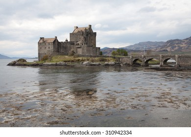 Eilean Donan castle, Scotland highlands, UK