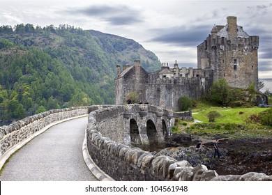 Eilean Donan Castle , Scottish Castle.
