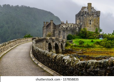 Eilean Donan Castle, western Highlands of Scotland, UK