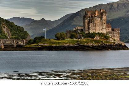 Eilean Donan Castle in western Scotland