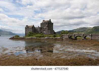 Eilean Donan, a small tidal island in Scotland with a picturesque castle