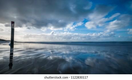 Ein Bild von der niederländischen Insel Texel