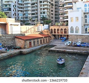 Ein el Mreisseh, Beirut: The famous landmark whose access to the sea now runs under the waterfront boulevard.