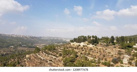 Ein Karem, Jerusalem, Israel - October 20, 2018