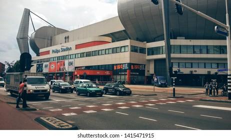 Eindhoven, Netherlands - 2016.07.05.: Philips Eindhoven Football Stadium