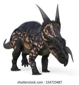 einiosaurus charge