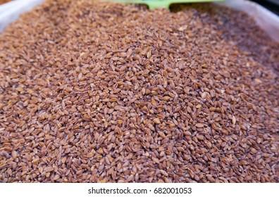 Einkorn, Triticum Monococcum, Siyez wheat bulgur (known as Siyez Wheat Bulgur in Turkey)