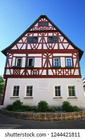 Bürgermeister - Eisen - Haus Bad Windsheim is a city in Bavaria Germany