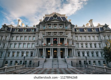 The Eisenhower Executive Office Building, in Washington, DC.