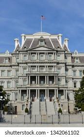 Eisenhower Executive Office Building in Washington DC - United States