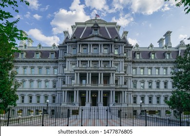 Eisenhower Executive Office Building in Washington DC