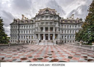 Eisenhower executive office building in Washington DC near white house