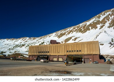Eisenhower Johnson Interstate 70 Tunnels under Loveland Pass in Colorado
