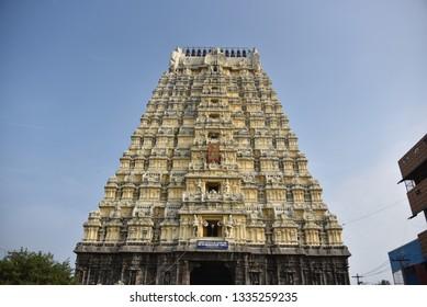 Ekambareswarar Temple, Kanchipuram, Tamil Nadu, India