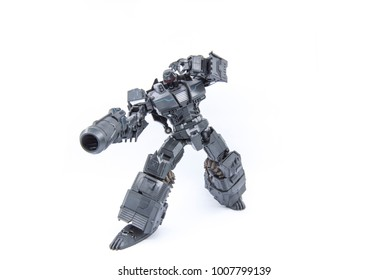Ekaterinburg, Russia - January 23, 2018: Mastermind Creations - Reformatted R-14 Commotus. Transformer.