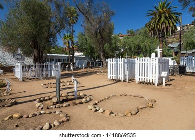 El Campo Santo Cemetery in San Diego Old Town, California, USA. September 24th 2016