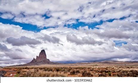 El Capitan Rising from the Desert