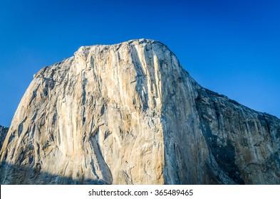 El Capitan in the Yosemite National Park