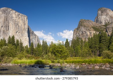 El capitan in Yosemite Valley