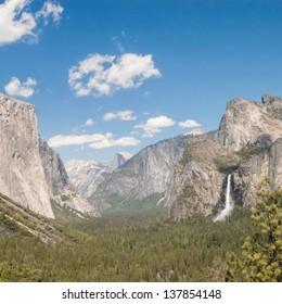 El Capitan, Yosemite Valley in Yosemite National Park,California