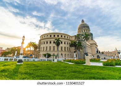 El Capitolio (National Capitol Building), was the organization of government until after the Cuban Revolution, and is now home to the Cuban Academy of Sciences, Havana, Cuba.