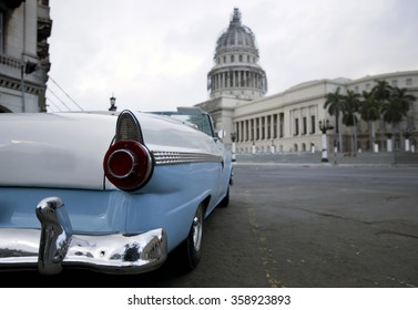 El Capitolio, or National Capitol Building in Havana, Cuba, was the seat of government in Cuba until after the Cuban Revolution in 1959, and is now home to the Cuban Academy of Sciences.