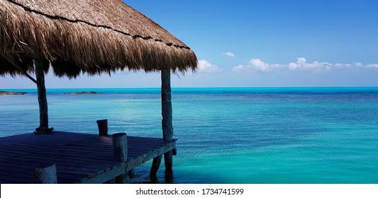 El Caribe y sus playas en armonía con la naturaleza.