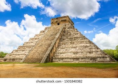 El Castillo the Mexican Pyramid