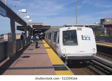 EL CERRITO, CALIFORNIA - NOVEMBER 8, 2016: Ballot measure RR is being voted on today. RR is a general obligation bond of $3.5 billion dollars to fund repairs.