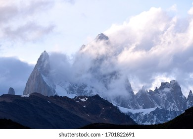 El Chalten, the Fitz Roy the king of Patagonia in Argentina