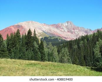 El Diente Peak, San Juan Mountains Colorado.  On of the 14ers