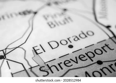 El Dorado on the map of USA