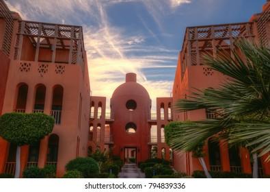 El Gouna, Hurghada, Egypt - 2016 - El Gouna Resort in Hurghada.