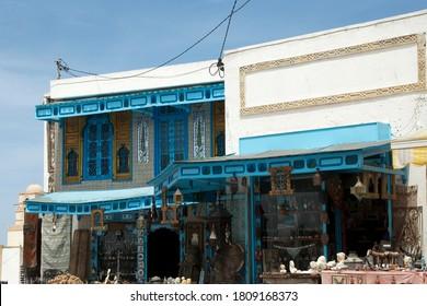 El Jem Tunisia Apr 28 2012, shop selling souvenirs, curios and knick knacks