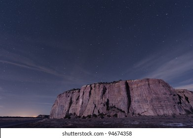 El Malpais Mesa with Big Dipper