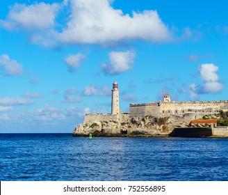 El Moro castle in Havana Bay