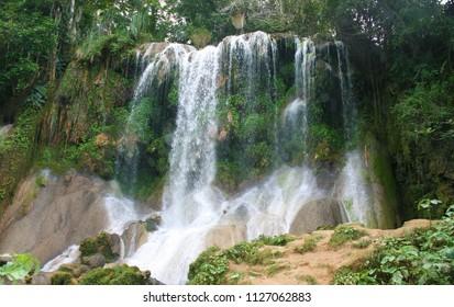 El Nicho Waterfalls near Cienfuegos, Cuba