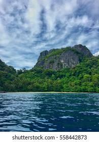 El Nido cliff