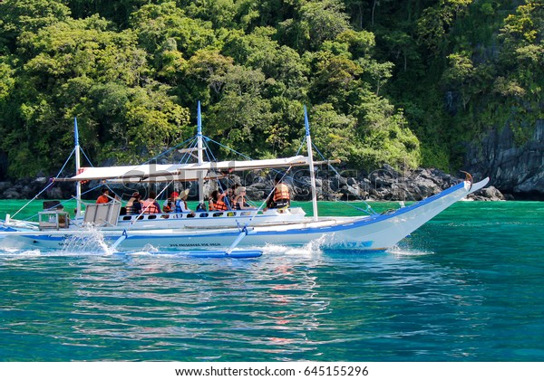 El Nido Palawan Island Philippines Dec Transportation