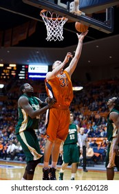 EL PASO – DECEMBER 28: Lang (31) of University of Texas El Paso shoots during the Sun Bowl Invitational in the 53 to 56 loss to Colorado State University on December 28, 2011 in El Paso, Texas.