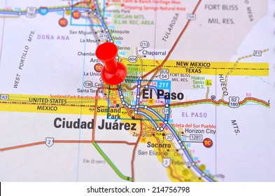 El Paso Map Images, Stock Photos & Vectors | Shutterstock